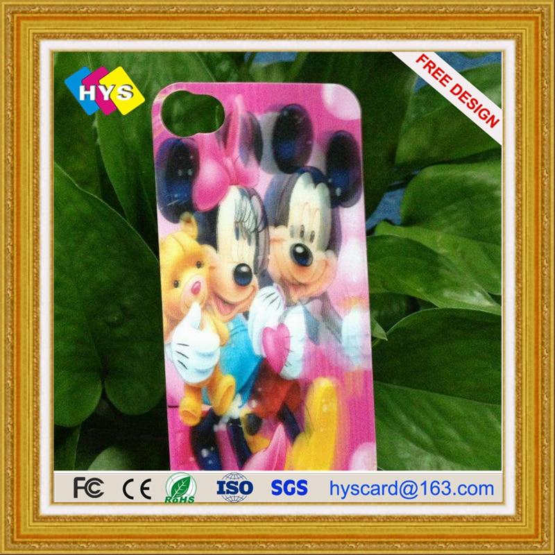 Customized Lenticular PET/PVC 3D  Card , Three Dimensional Grating Card 3D Smart  Card Supply