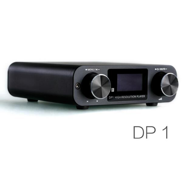 Portable Audio & Video Smsl Dp1 Hifi Dsd Player/digital Dial Dac/headphone Amplifier Support Sd Card/ Optical/ Usb Input Come With Remote Control Back To Search Resultsconsumer Electronics