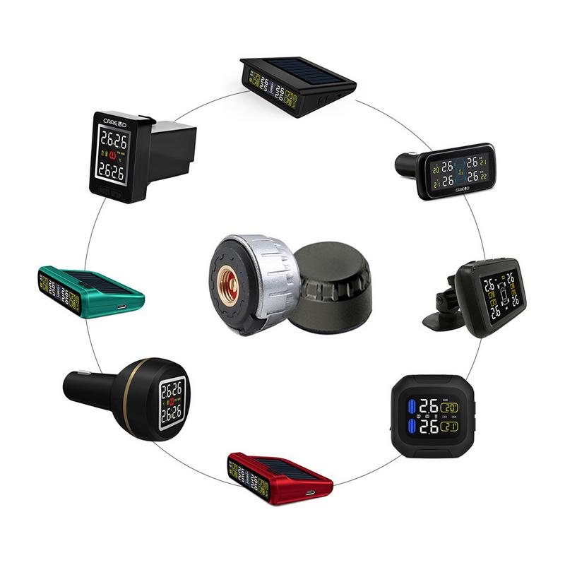 Tire Pressure Monitoring System Sensors Motorcycle TPMS Sensors Real-time Highly Accurate TPMS Prevent Puncture