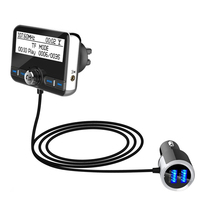 DAB002 DAB Digital Radio Receiver FM Tuner Radio Car Bluetooth 4.2 Transmitter Adapter FM DAV/DAB Tuner Broadcasting