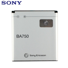 Sony Original Replacement Phone Battery BA750 For SONY Xperia Arc S LT15i X12 LT18i Authenic Rechargeable 1460mAh