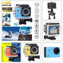 2in HD Screen 4K WiFi Action Camera Super Wide Angle Lens Outdoor Sports Camera HDMI