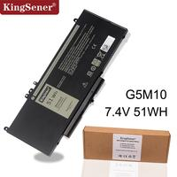 KingSener G5M10 bateria Do Portátil Para DELL Latitude E5250 E5450 E5470 E5550 E5570 8V5GX R9XM9 WYJC2 1KY05 7.4 V 51WH|Baterias p/ laptop| |  -