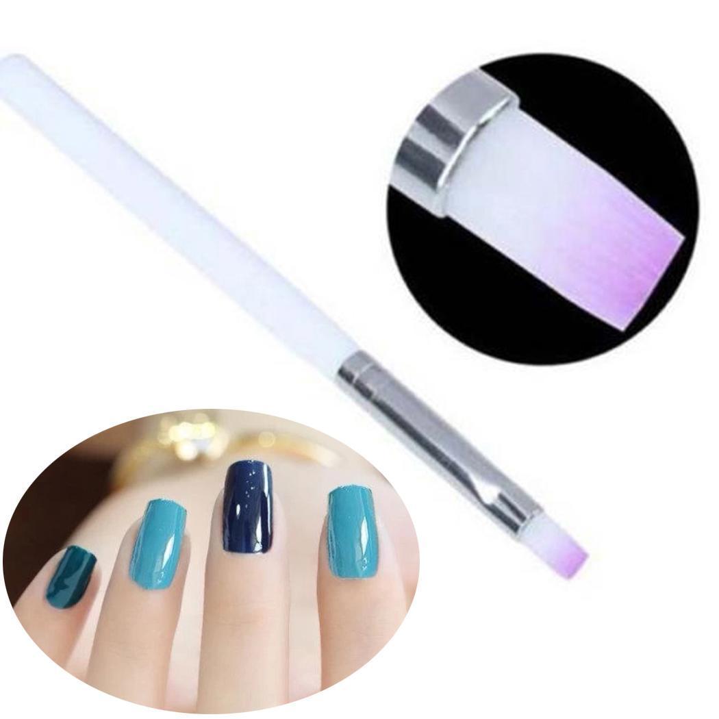 Brush On Nail Gel: DIY Manicure Brushes Nail Brush Nail Art Brushes For