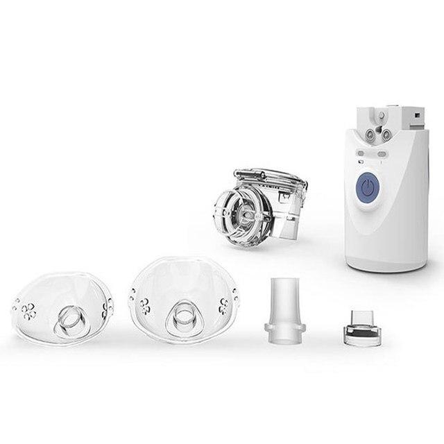 Health Care Mini Handheld แบบพกพา Inhale Nebulizer silent Ultrasonic inalador nebulizador เด็กผู้ใหญ่ชาร์จ Automobile 5