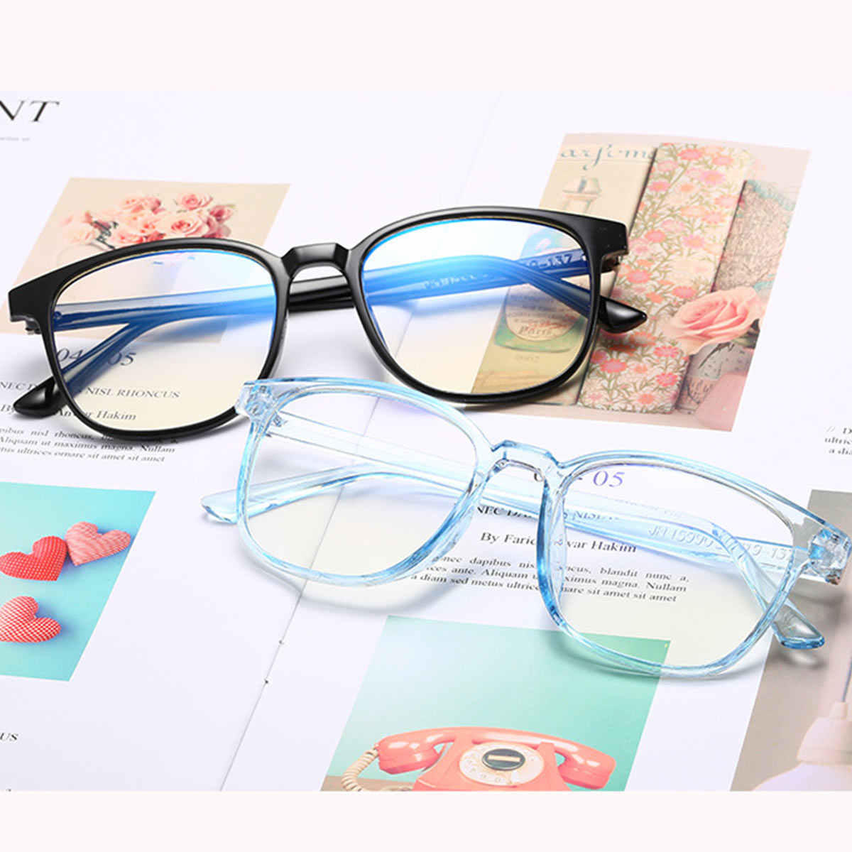 80975ade1042 ... New Fashion Retro Flat Mirror Men And Women General Korean Version Of  The Tide With Myopia ...
