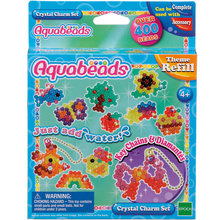 Мозаика из бусин Aquabeads Потрясающие брелочки, 400 бусин