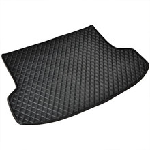 Car Trunk Mats for SKODA RAPID Spaceback NH1 ROOMSTER Praktik 5J SUPERB II III 3T4 Kombi 3T5 3V3 3V5 Custom Cargo Liner(China)