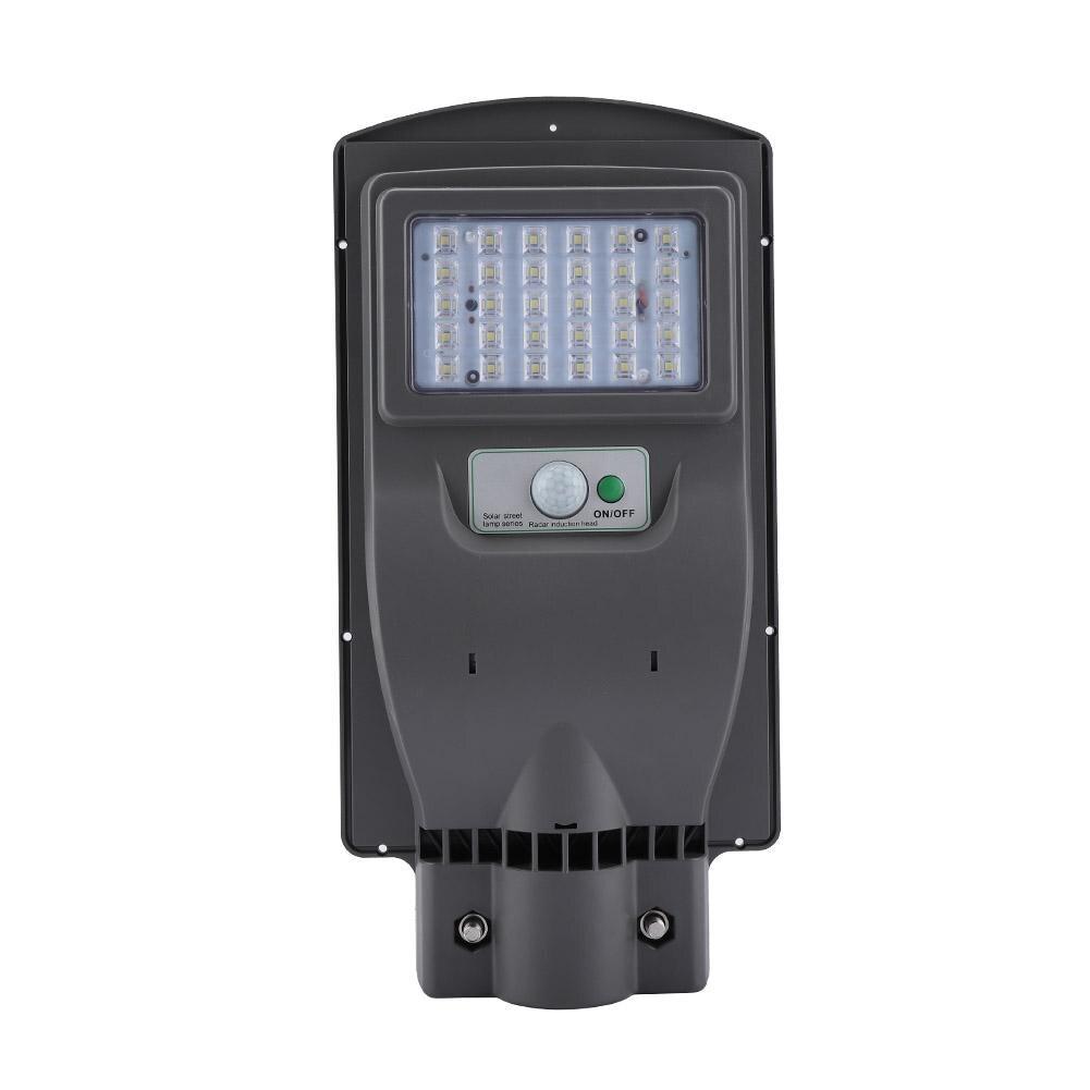 Außenbeleuchtung 30led 20 W Led Solar Straße Licht Garten Hof Lampe Menschlichen Körper Sensor Ip65 Wasserdicht Ausgezeichnet Im Kisseneffekt