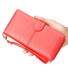 Womens Wallet Handbag Large Capacity Multi-Function Shoulder Bag Long Paragraph Clutch Purse Female
