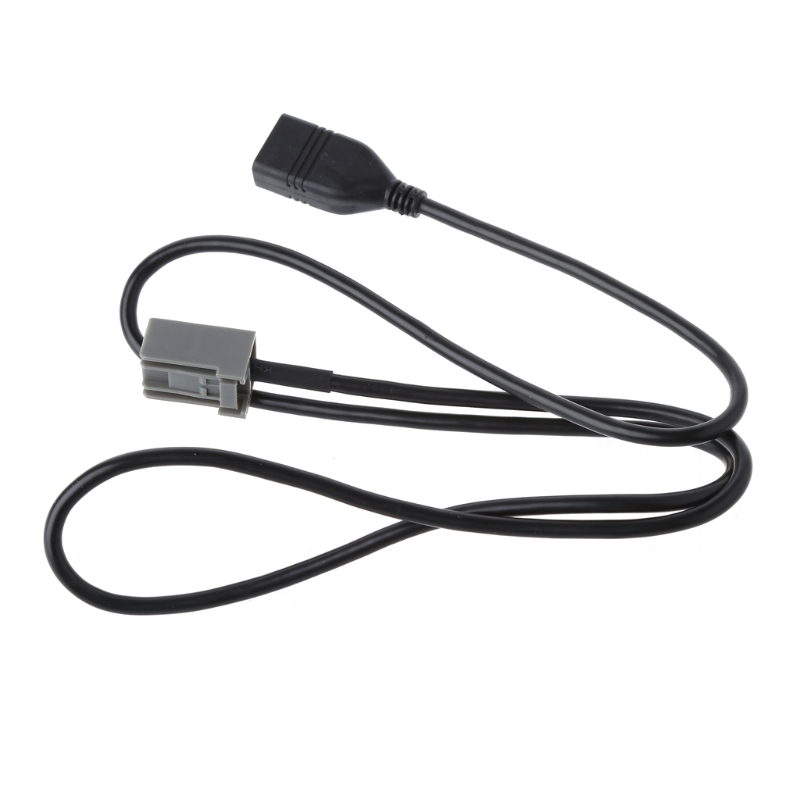 Car USB Cable Adapter Extension Wire Fit for Honda Mitsubishi 2009 Onward Audio Media Music Interface Car Styling Parts USB image