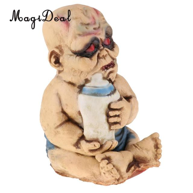 Halloween Zombie Baby Prop.Us 36 41 Creepy Latex Zombie Baby Red Eyes Ghost Doll Halloween Party Prop Ornament In Dolls From Toys Hobbies On Aliexpress Com Alibaba Group