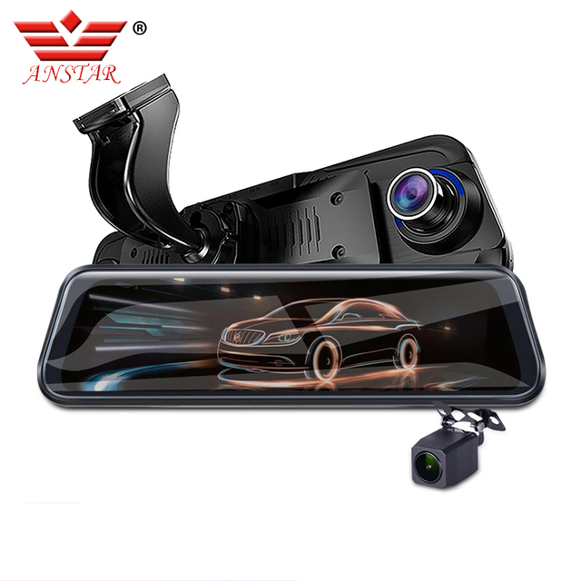 ANSTAR 2019 New 4G Android DVR Dash Camera HD 1080P Mirror Dvr Car Camera Recorder ADAS Alarm Systems Dash Cam Night Vision