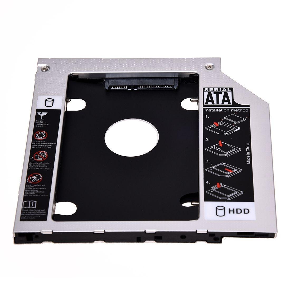SATA 2-й жесткий диск HDD Caddy адаптер для ThinkPad T400 T410 T500 R400 R500