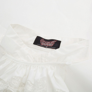 Image 3 - Blusa retro homens gótico steampunk festa de casamento clubwear medieval manga longa gola jabot decorado camisa topos chemise