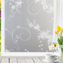 90*400 cm vinyl decorative window glass film for door bathroom,transparency privacy protective cover,static self adhesive