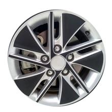 Pneu Da Roda de carro De Fibra De Carbono Adesivos Decorativos Para Toyota Corolla Novo 2014 Auto Peças