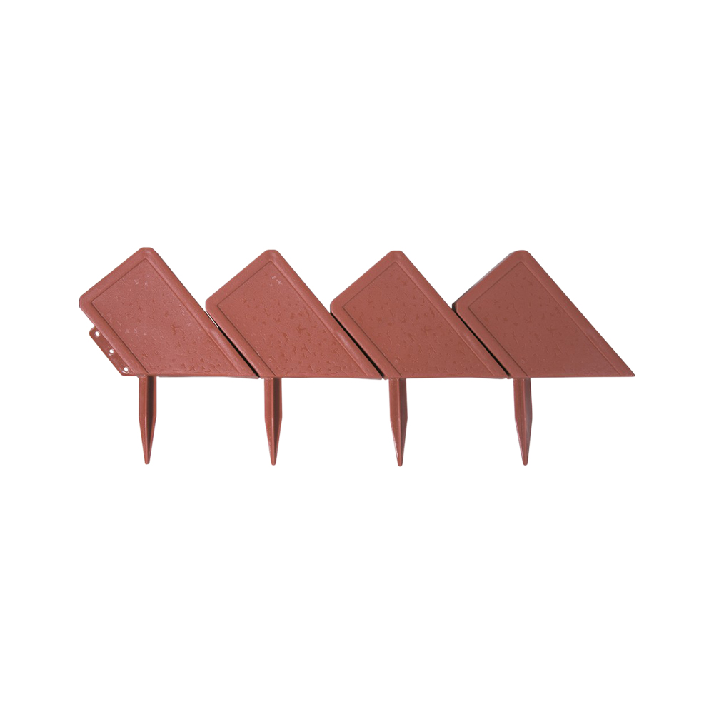 Decorative Stakes & Wind Spinners PALISAD 65040 Brick Garden Border Decor For Garden stone brick decorative tapestry wall hangings