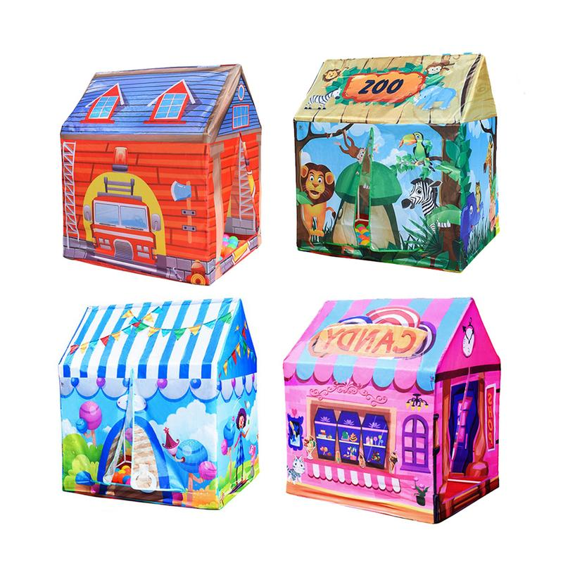 4 Styles Kids Toy Tent Children S Play