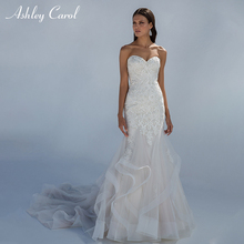 Ashley Carol Strapless Mermaid Wedding Dress Bride Dresses