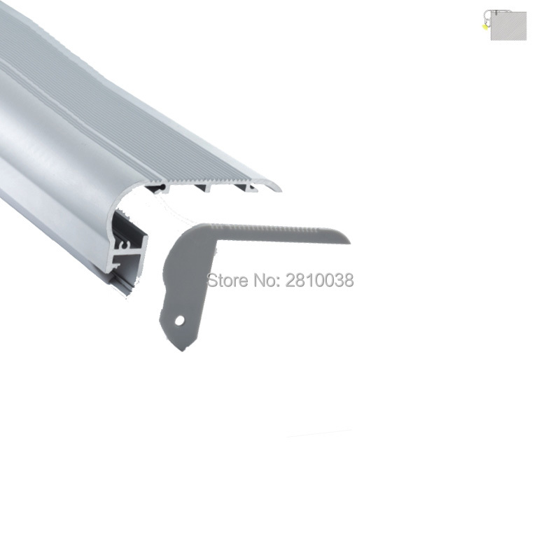 10 X 1M Sets/Lot 6000 Series LED Alu Channel Aluminium Led Housing For Home Or KTV Step Stair Lamps