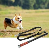 Dog Leash Nylon Chest Back Bicycle Traction Rope Good Elastic Flexible Safety Bicycle Traction Rope Pet Supplies