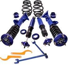 Coilover Suspension Camber แผ่น ABSORBER Strut แขนควบคุมสำหรับ BMW 3 Series E36 ขนาดกะทัดรัด 316i 318i 320i 323i 325i 328i shock