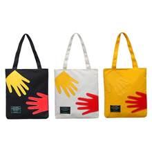 e0ee3e2e4 Top-handle Totes Bolsa Multicolor das mulheres de Grande Capacidade Saco de  Compras Sacos de Ombro Estilo Preppy
