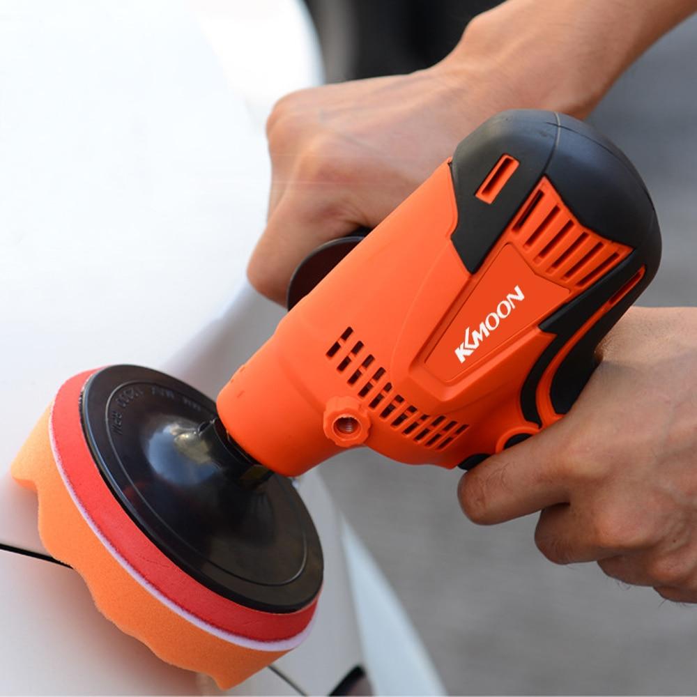 KKmoon 800W Grinder Polishing Machine Poilsh Adjustable Speed Car Electric Polisher Waxing Machine Auto Furniture Polishing ToolPolishers   -