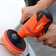 Kkmoon máquina de polimento automotivo, 800w, velocidade ajustável, máquina de polimento, ferramenta de polimento, móveis
