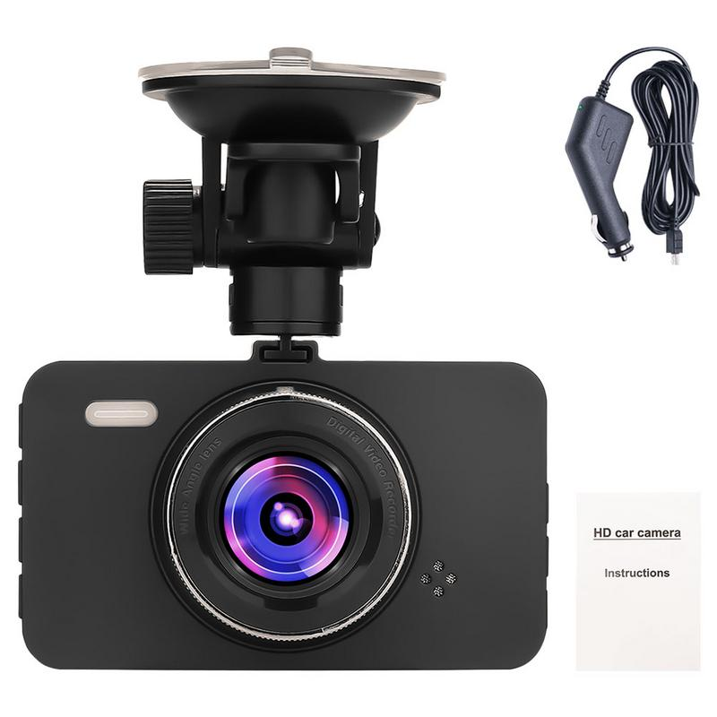 Driving-Recorder Dashboard-Camera Recording Cyclic Motion-De DVR G-Sensor Lcd-Screen