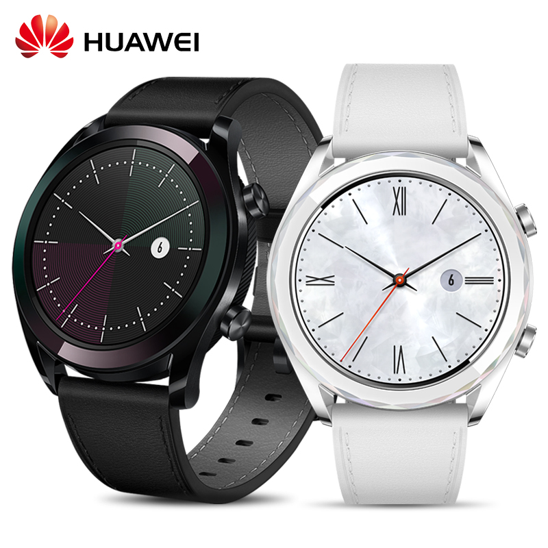 HUAWEI Watch GT Smart Watch AMOLED Heart Rate Monitoring 5ATM Waterproof GPS NFC Bluetooth Outdoor Sport SmartwatchHUAWEI Watch GT Smart Watch AMOLED Heart Rate Monitoring 5ATM Waterproof GPS NFC Bluetooth Outdoor Sport Smartwatch