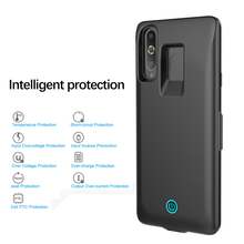 for Samsung Galaxy S8S Case 6500mAh Slim External Battery Portable Charger Charging Power Cover A8S Power Bank Bateria Fundas
