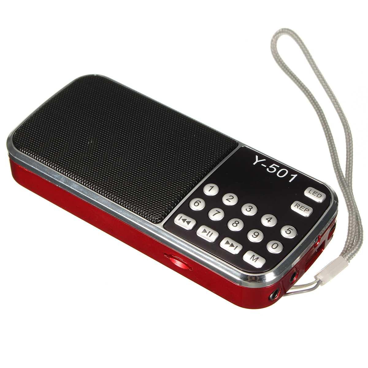 FleißIg Heißer Verkauf 3,5mm Audio Radio Mini Tragbare Lcd Digital Fm Radio Lautsprecher Usb Unterstützung Tf Karte Mp3 Musik Player Wir Haben Lob Von Kunden Gewonnen Unterhaltungselektronik