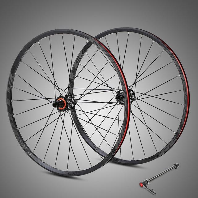 carbon fiber XD flower drum Aluminum alloy XC BMX mountain wheelset 27.5/29inch 15*100/12*142mm 4 Bearing Bike Wheels