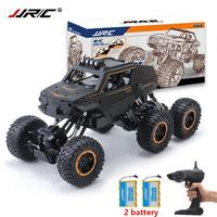 JJRC Q51 MAX 1/12 2.4G 6WD Off Road Buggy Crawler RC Car Monster 2x Battery For Children Birthday Gifts