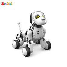 New Dimei 9007a Intelligent Rc Robot Dog Toy Remote Control Smart Dog Kids Toys Cute Animal Rc Robot Gifts For Children Birthday(China)