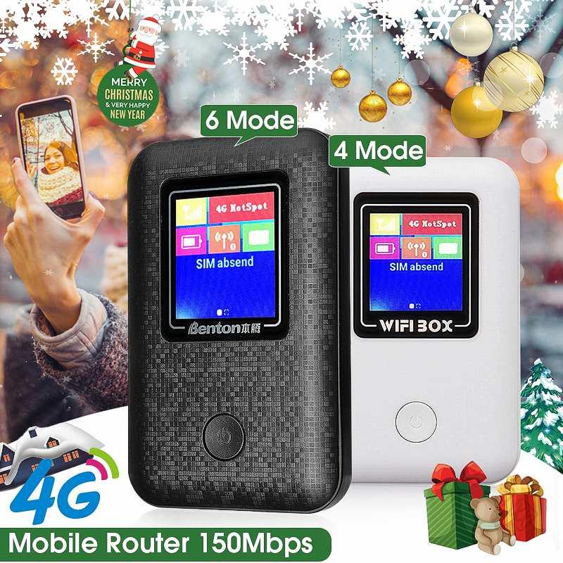 Unlockeds 4G LTE 3G WiFi Mobile À Large Bande Sans Fil Hotspot écran lcd MiFi Routeur