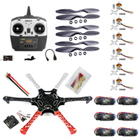 F05114 S F550 Drone FlameWheel Kit With KK 2.3 HY ESC Motor Carbon Fiber Propellers + RadioLink 8CH TX RX +
