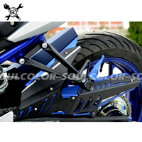 Fits For YAMAHA MT 03 MT03 MT 03 YZF R3 R25 2013 2015 2016 2017 2018 CNC Rear Fender Mudguard & Chain Guard Cover Kit YZF R25