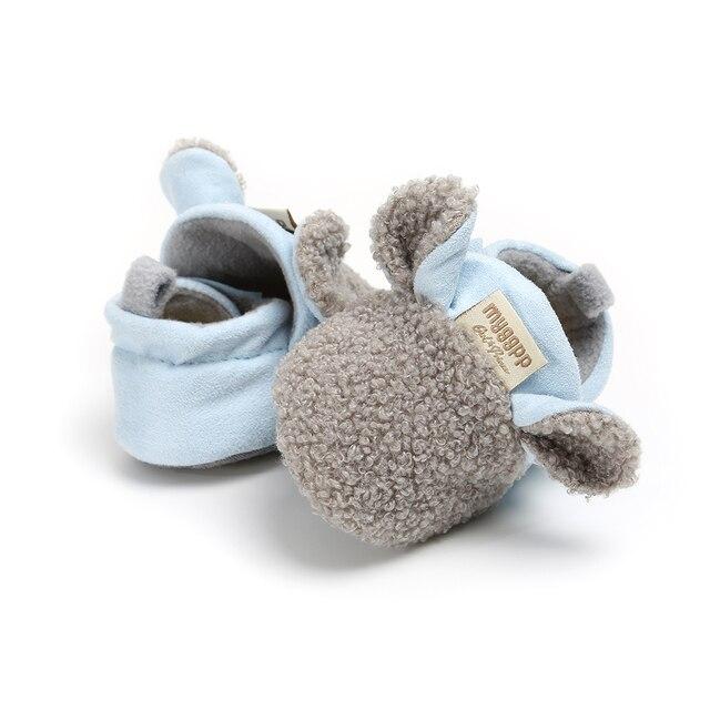 Pudcoco-chaussures de berceau unisexes | Pantoufles en agneau, chaussures décontractées pour tout-petits et bébés, chaussures de rampement, pour garçons et filles, 2019