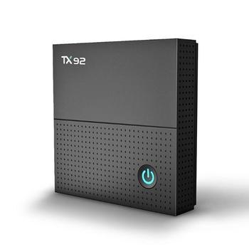 ALLOYSEED TX92 Android 7.1 TV Box Amlogic S912 Octa Core 3GB 32GB Bluetooth 4.1 2.4G/5.8GHz WiFi 4K Media Player TV Set Top Box