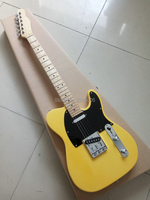Hot sale factory direct ,tele guitar,yellow color guitar,gloss finish,chrome hardware,free shipping