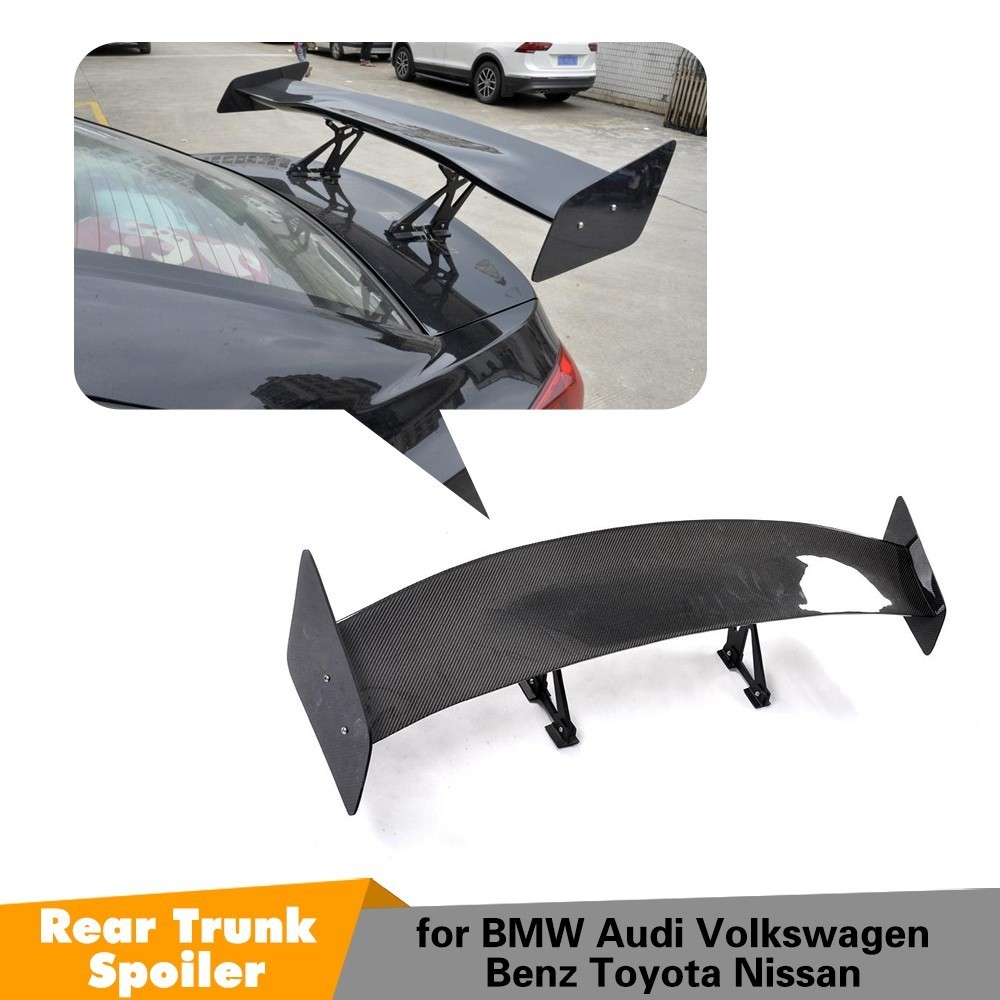 For BMW F30 F80 G30 Carbon Fiber Car Styling Rear Trunk Lip Boot Lip Wing Spoiler Coupe Sedan Universal Spoiler