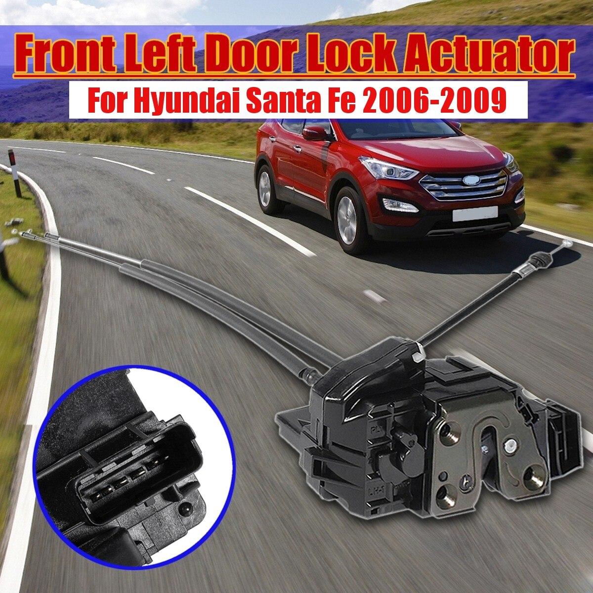 813102B020 Car Front left Side Power Door Lock Actuator Door Lock Actuator For Hyundai Santa Fe 2006 2007 2008 2009