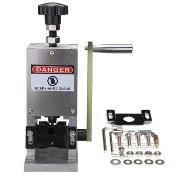 Ручной Управление жильный кабель обжимной машины и пилинг машины для металлической проволоки Recycle жильный кабель зачистки резки