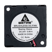 цены на Gdstime DC 24V 2Pin Turbo Blower 30mm x 10mm 3cm 3010 Mini Cooling Fan  в интернет-магазинах