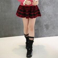 Children's clothing spring new fashion casual solid color wild girl big boy mini skirt wild boy