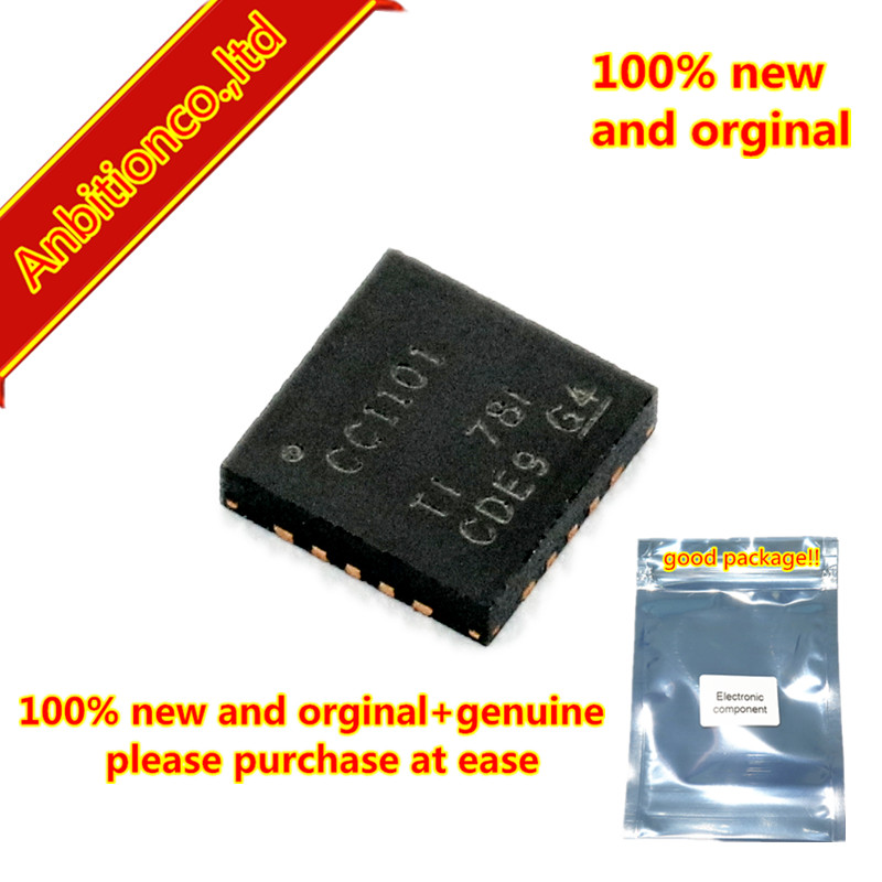 10pcs 100% new and orginal CC1101RGPR Low-Power Sub-1 GHz RF Transceiver in stock image