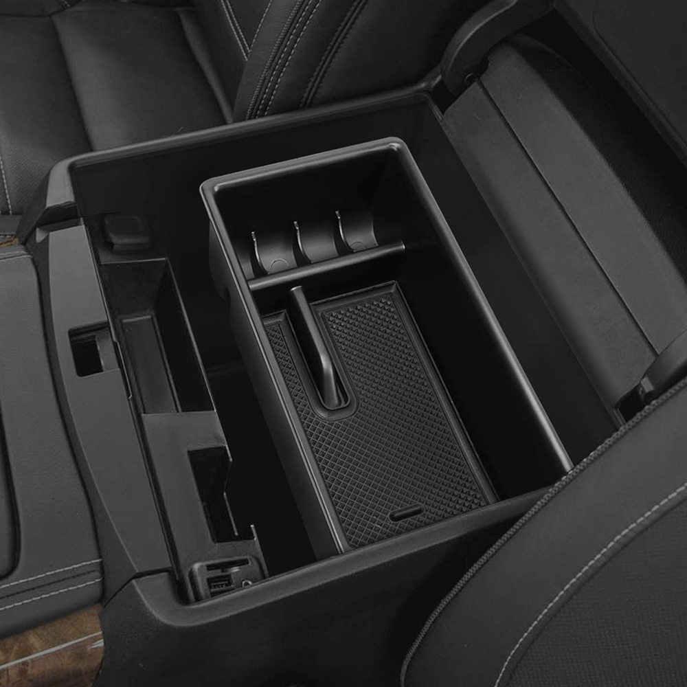 Storage Box Center Console Organizer Armrest Tray For Toyota Tacoma 2016-2018